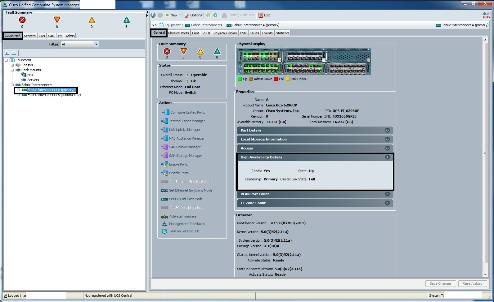 Cisco UCS Configuration Guide for vSphere – Part 7 – Firmware