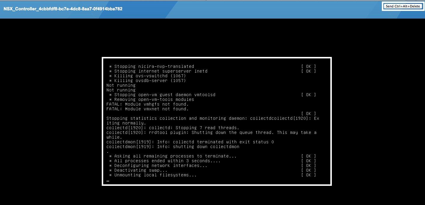how to ctrl alt delete on mac vmware