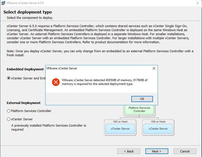 vSphere 6 5 Basics – Part 3 – vCenter Server Install with Windows