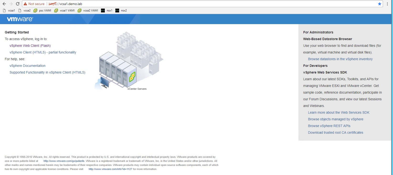 vSphere 6 5 – Unable to upload files to Datastore or deploy