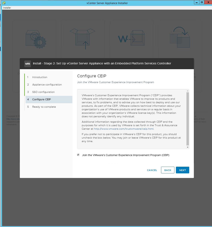 vSphere 6 7 Basics – Part 2 – vCenter Server Appliance